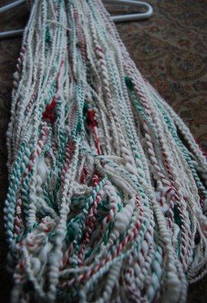 Second Skein of Yarn. This was made directly AFTER Sarah Anderson's class.