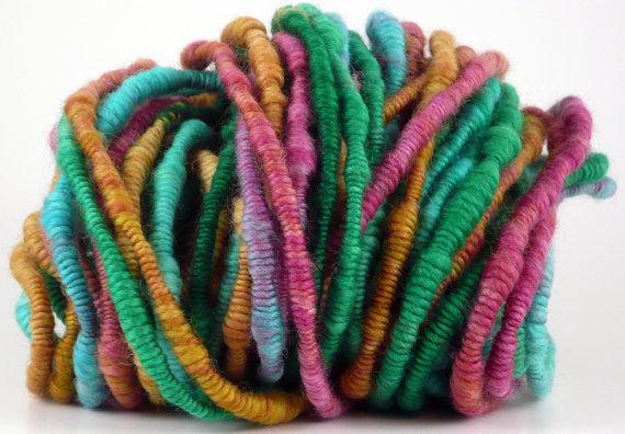 coiled yarn